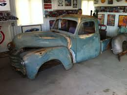 Project: AREA 51, 1951 Chevy Truck