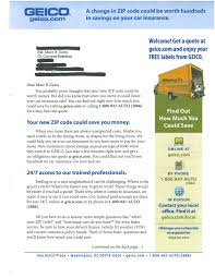 Mail That Fails: Geico: Only A 15 Minute List Update Could Save ...