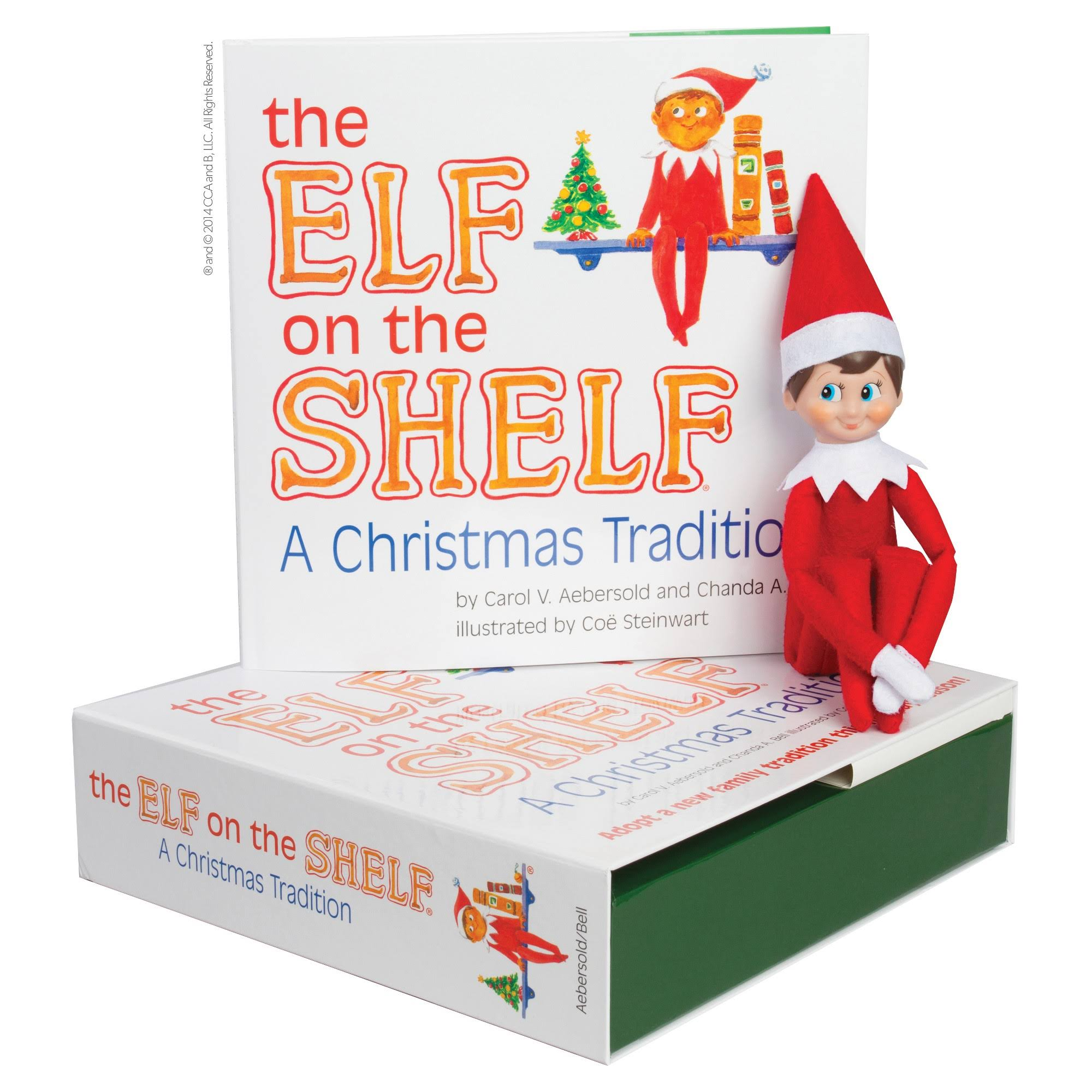 The Elf on the Shelf: A Christmas Tradition - Carol B. Aebersold and Chanda A. Bell