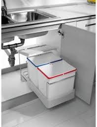2 fach küchen einbau abfalleimer electa1 2x 16 liter