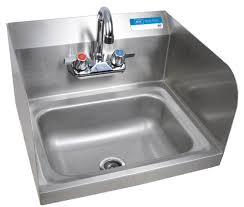 Mop Sink Faucet Cad by Sm Hand Sink 2 Hole W Side Splashes W Faucet Bk Resources