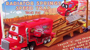 100 Mack Truck Playset Radiator Springs Speed Trap Track Cars 2 Mini Adventures