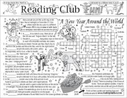 New Year S Eve Crossword Puzzle Teaching Resources