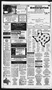 100 Livingston Trucking Polk County Enterprise Tex Vol 123 No 24 Ed 1