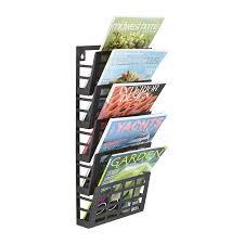 100 Dessa Dutch Grid Magazine Rack 5 Pocket The Eggleston Group