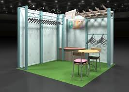 Clothing Retailer Trade Show Display By Structurz Exhibits And Graphics