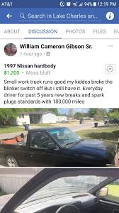 4/3/2018 ... 1997 Nissan Truck ... $1,200 @ Https://www.facebook.com ... Nissan Truck 218px Image 11 1n6sd11s5vc358751 1997 Silver Base On Sale In Tn Nissan Truck Overview Cargurus Used Car Ds2 Costa Rica D21 97 Extended Cab Lovely Hardbody 44 1nd16sxvc353067 White King Ga Larry Escobedos Whewell 9 Xe For Classiccarscom Cc913548 1nd16s4vc335647 Fresh Se 4x4 5 Speed Manual 1994 Nissan 4 Sale Speed Se