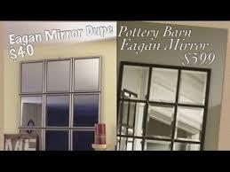 pottery barn eagan inspired dollar store mirror