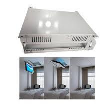 spe mit fernbedienung tv lift mechanismus motorisierte elektrische flip unten decke tv hebe 65 zoll tv decke montieren