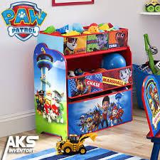 PAW Patrol Kids Toy Organizer Bin Children s Storage Box Bedroom