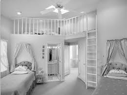 Mesmerizing Black White Girl Room Themes With Beautiful Peach Color Teen Girls Bedroom Interior Design