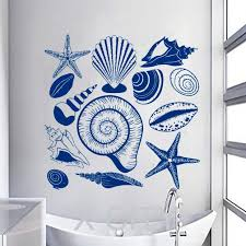 Beach Hut Themed Bathroom Accessories by Gorgeous Sea Bathroom Decor Searoom Good Looking Seashell Themed