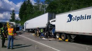 3 Semi-truck Crash Due To Inattention Snarls Blaine Truck Crossing ... Semitruck Accidents Shimek Law Accident Lawyers Offer Tips For Avoiding Big Rigs Crashes Injury Semitruck Stock Photo Istock Uerstanding Fault In A Semi Truck Ken Nunn Office Crash Spills Millions Of Bees On Washington Highway Nbc News I105 Reopened Eugene Following Semitruck Crash Kval Attorneys Spartanburg Holland Usry Pa Texas Wreck Explains Trucking Company Cause Train Vs Semi Truck Stevens Point Still Under Fiery Leaves Driver Dead And Shuts Down Part Driver Cited For Improper Lane Use Local