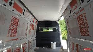 Sprinter Van Insulation DIY Custom Conversion RV