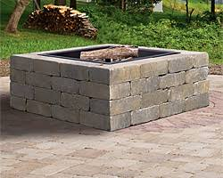 Weston Stone Fire Pit Kit Boston Wellesley MA