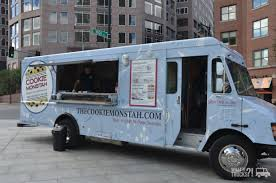 100 Food Trucks Boston The Cookie Monstah On High St At The Greenway S