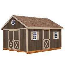 12x20 Storage Shed Material List by Best Barns Easton 12 Ft X 20 Ft Wood Storage Shed Kit With Floor