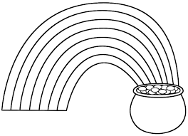 Extraordinary Rainbow Coloring Pages Image 19