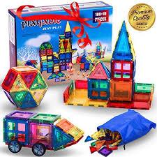 mega magnetic building blocks set teach a child physics and
