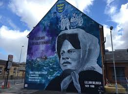 Big Ang Mural Petition by Hull Mural Honours Trawler Safety Fighter Lillian Bilocca Bbc News