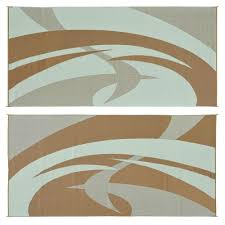 Reversible Patio Mats 8 X 20 by Large 9 U0027x 18 U0027 Reversible Rv Mat For Rv U0027s Decks And Campers