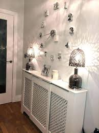 Unique Wall Coverings Covering Ideas Cover Hallway Radiator Clock Lamps Creative Unusual Kitchen