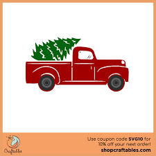 100 Free Truck Tree Svg Cut File Craftables