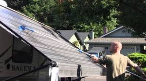 How To Clean An RV Awning - YouTube Hospital Entrance Canvas Awning Cleaning And Restoration First Cleaning Sunbrella Awning Burgundy In Marine Grade Fabric Covers Rv Bromame San Diego Green Earth Window Services Building Roof Portland Oregon How To Clean Care And Canvas Service Inc Shade Sails Awnings Repair In Sydney Central Coast Spray Forget 32 Oz Exterior Algaeldmosslichen Cleaner Buy Windows Canopies Carports Itallations Gndale Mhattan Nyc Floral Rv Mildew Pro Strength Stain Remover