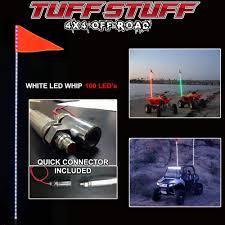 Amazon.com: Tuff Stuff LED Whip 6' W/Quick Connect Mount & Flag ...