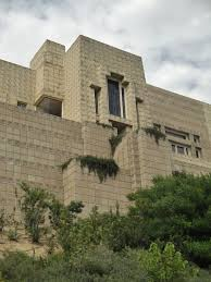 100 Frank Lloyd Wright Textile Block Houses Charles Ennis House 1924 Los Feliz Neighborhood Of Los