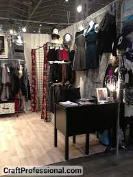 Gridwalls Used To Create A Dressing Room In Handmade Clothing Booth