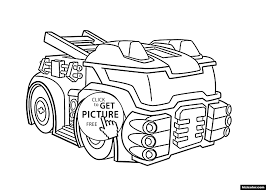 Rescue Bots Heatwave The Fire Bot - Free Printable Coloring Pages ...