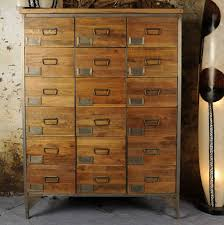 industrial vintage apothecary chest by the orchard furniture