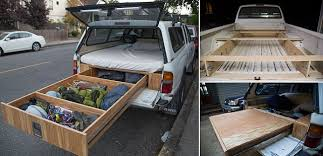 Toyota Ta a With A Bed And Drawer System