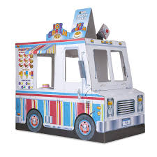 100 Truck Food Amazoncom Melissa Doug Indoor Corrugate Playhouse