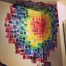 Loveeee This Idea Paint Sample Wall Art