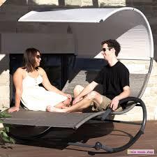 Ebay Patio Table Umbrella by Outdoor Lounger Garden Patio Double Orbital Tan Bed Canopy Cover