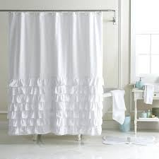Pink Ruffle Curtains Uk by Orient Moon Jelly 100 Percent Organic Cotton Shower Curtain