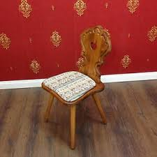 details zu voglauer anno 1600 braun stuhl landhaus bauernstil küche wohnzimmer fichte