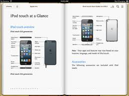 Apple Publishes iPod Touch User Guide For iOS 6 as eBook iClarified