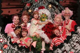The Grinch Christmas Tree Scene by Review How The Grinch Stole Christmas The Musical Central
