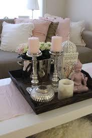 rosa accessoires wohnzimmer wohungsdekoration erste