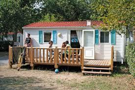 Campsite France Charente Maritime mobile home rentals Near La