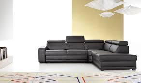 canap cuir contemporain canapé d angle en cuir convertible 5 à 6 places moderne