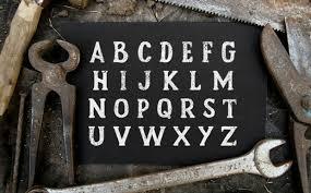 20 Rustic Fonts