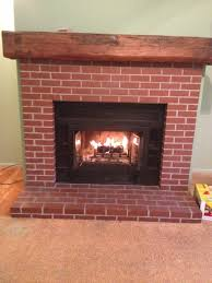 Paint Colors Living Room Red Brick Fireplace by Red Brick Fireplace