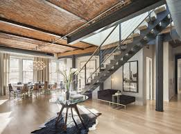 100 Penthouse Soho Cast Iron Quintessentially SoHo Modern Home In