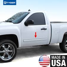 2009-2013 Chevy Silverado Regular Cab Rocker Panel Chrome Stainless ... Cab Cover Southern Truck Outfitters Pickup Tarps Covers Unique Toyota Hilux Sept2015 2017 Dual Amazoncom Undcover Fx11018 Flex Hard Folding Bed 3 Layer All Weather Truck Cover Fits Ford F250 Crew Cab Nissan Navara D21 22 23 Single Hook Fitting Tonneau Alinium Silver Black Mercedes Xclass Double Toyota 891997 4x4 Accsories Avs Aeroshade Rear Side Window Louvered Blackpaintable Undcover Classic Safety Rack Safety Rack Guard