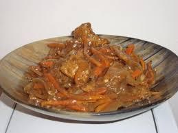 cuisine chinoise porc recette porc à la chinoise 750g