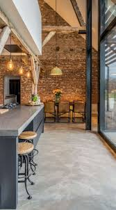 the 25 best interior brick walls ideas on kitchen